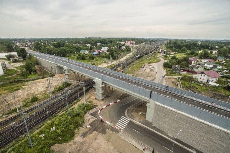 Строительство Лиговского путепровода проходит только на городские средства