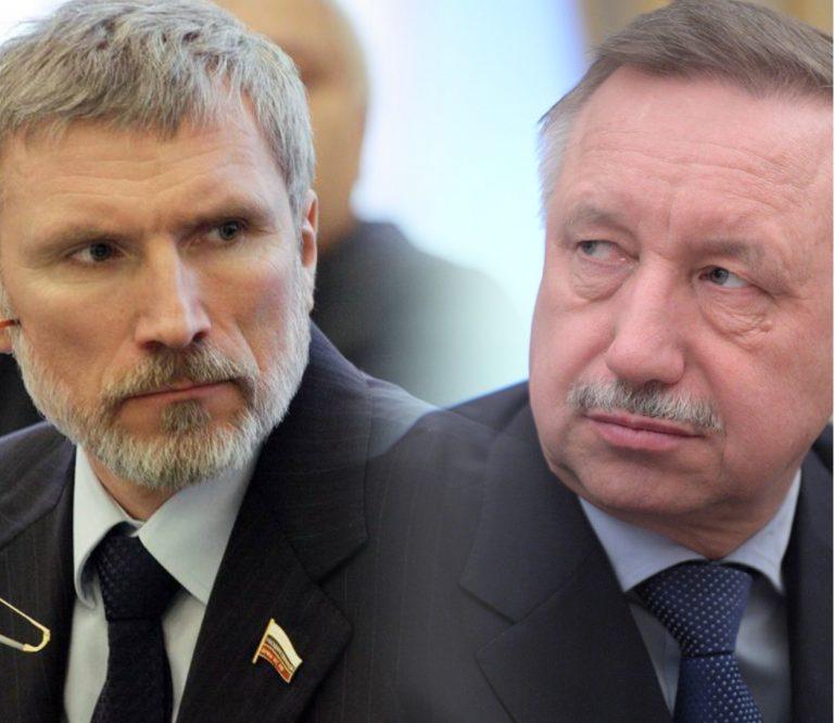 Губернатор Беглов пытается выкорчевать партию «Родина» с политического поля Петербурга