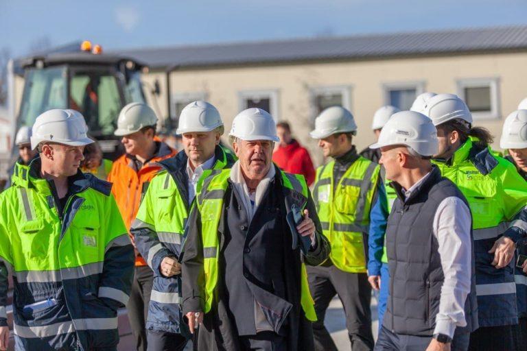 Строительство «СКА Арены» идет в соответствии со сроками